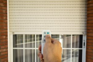 motorized window shutter