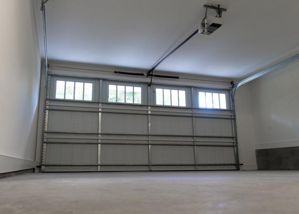 Residential two car garage