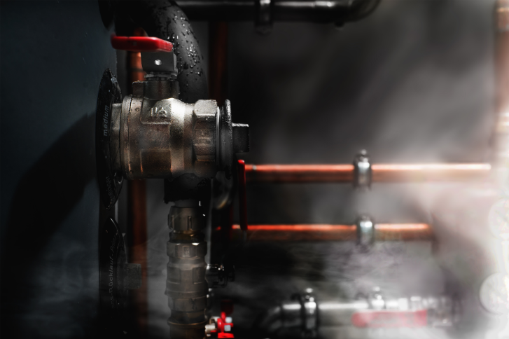 boiler leaking