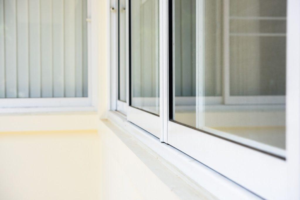 Bottom view of windows