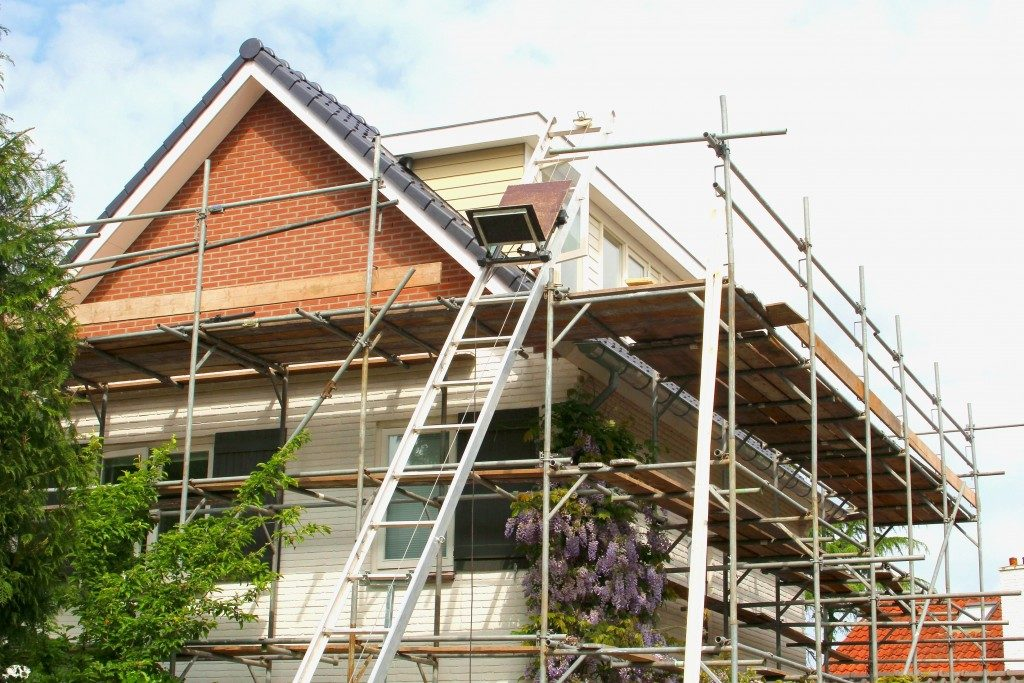 Home extension construction