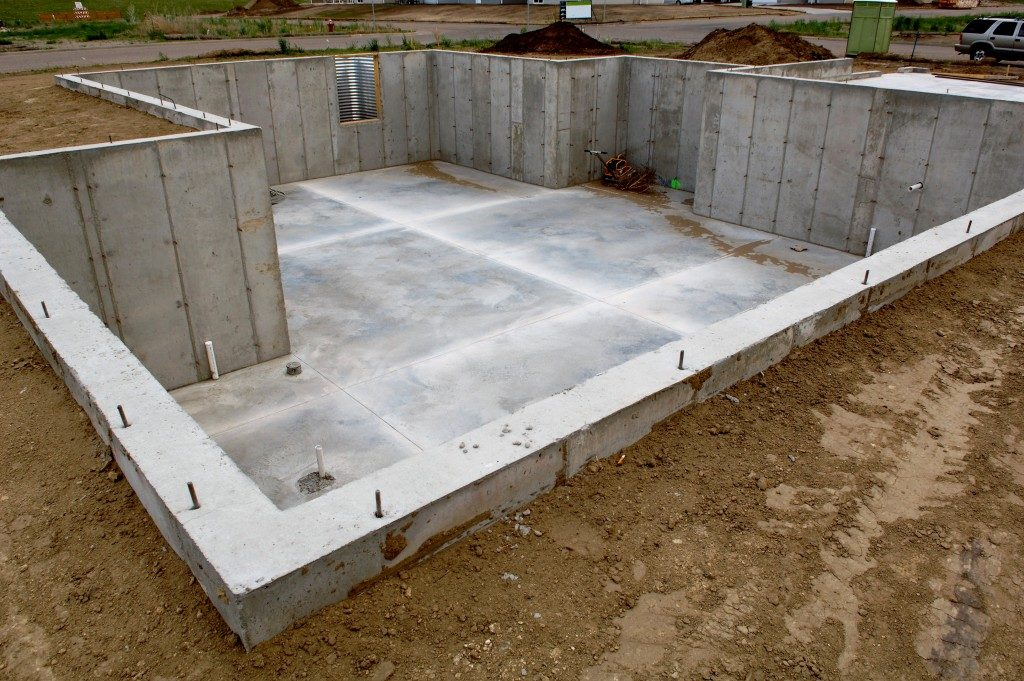 foundation setting