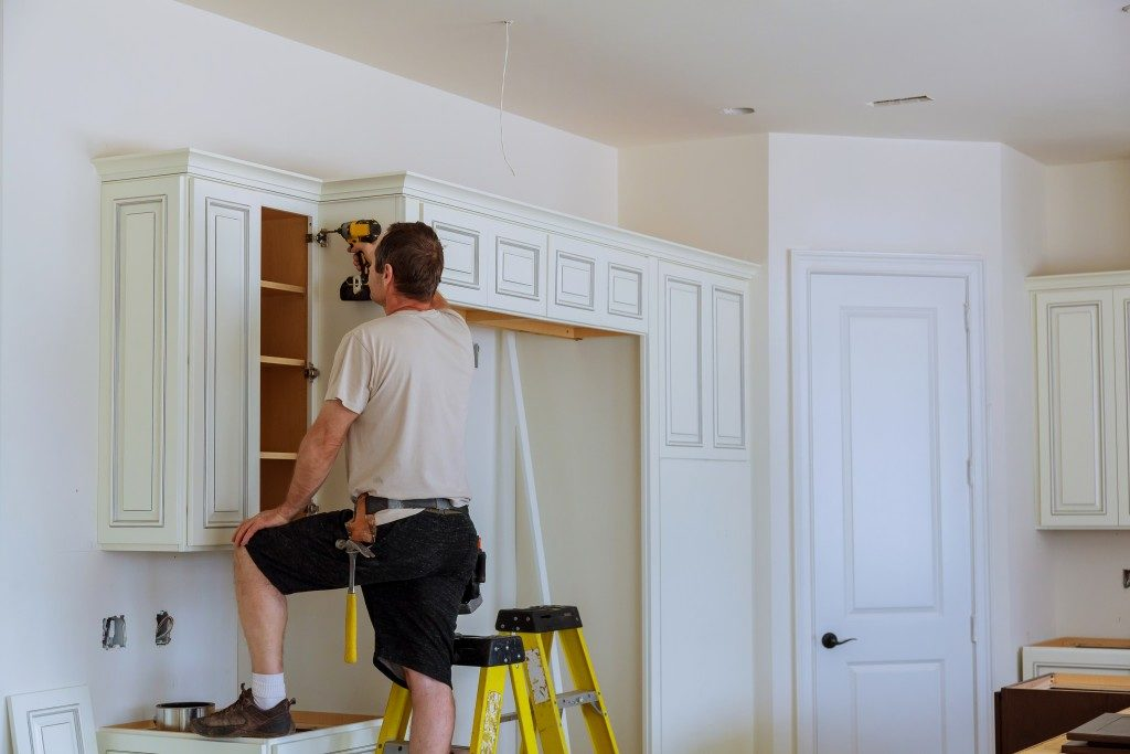 kitchen cabinet construction