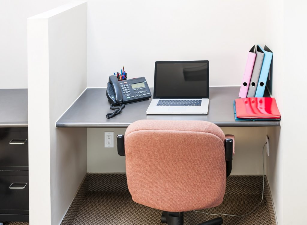 small office cubicle