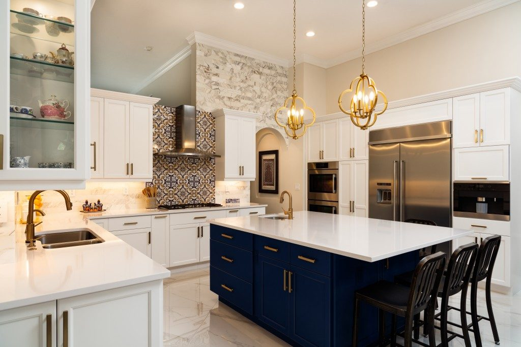 Beautiful luxury home kitchen