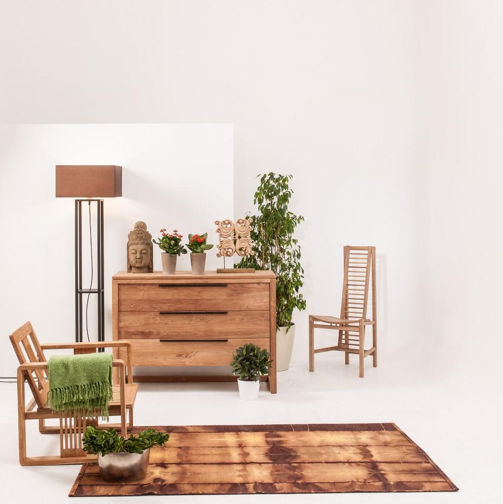 Wood fixtures