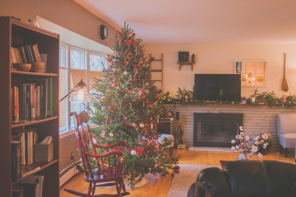 holiday living room